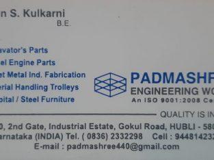 PADMASHREE ENGINEERING WORKS HUBLI