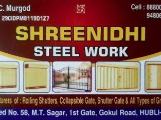 SHREENIDHI STEEL WORK HUBLI