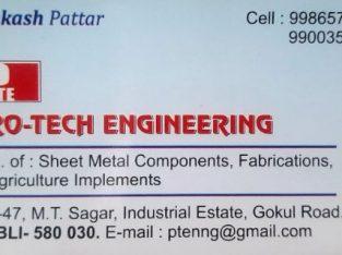 PRO-TECH ENGINEERING HUBLI