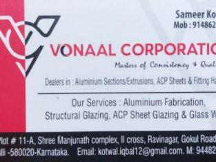 VONAAL CORPORATION HUBLI