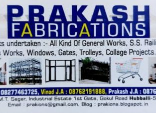 PRAKASH FABRICATIONS HUBLI
